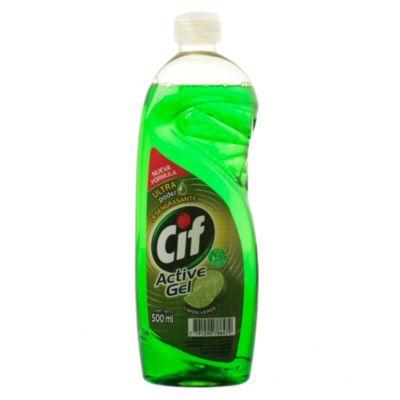 Detergente para vajilla active gel lima 500 ml