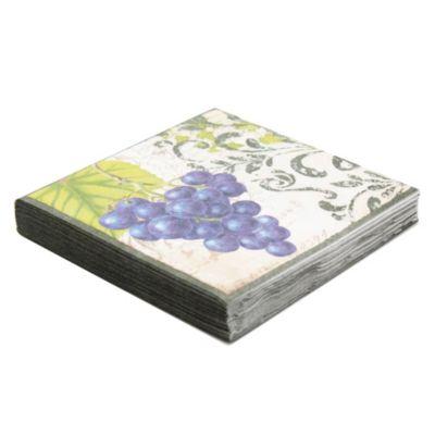 Servilletas Tissue 33 cm Uvas