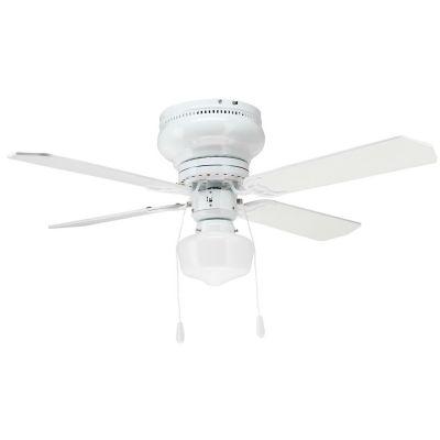 Ventilador de techo Ismay 1 Luz 4 aspas blanco