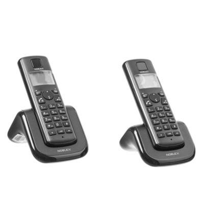 Teléfono inalámbrico duo