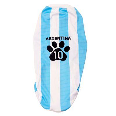 Camiseta de Argentina para mascota talle s