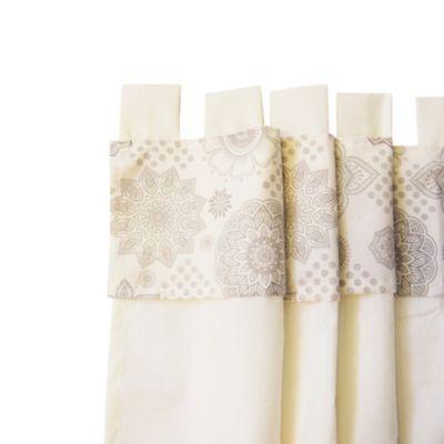 Cortina de cocina 1 paño mandala