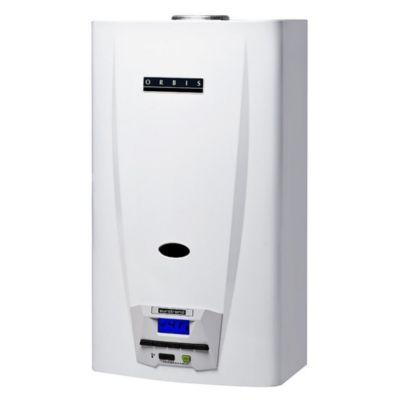 Calefón 14 l automático botón digital gas envasado
