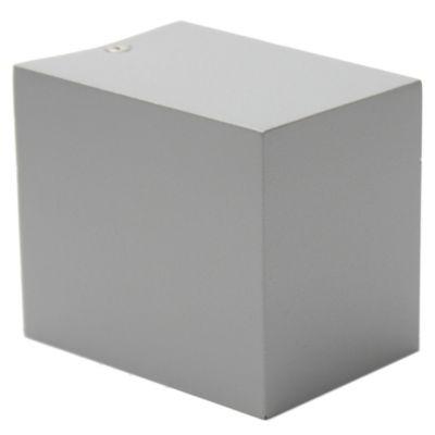 Aplique unidireccional Nico GU10 aluminio