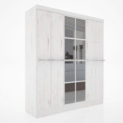 Placard 6 puertas con 2 cajones Reflex enigma