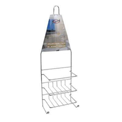 Organizador de ducha cromado 2 estantes