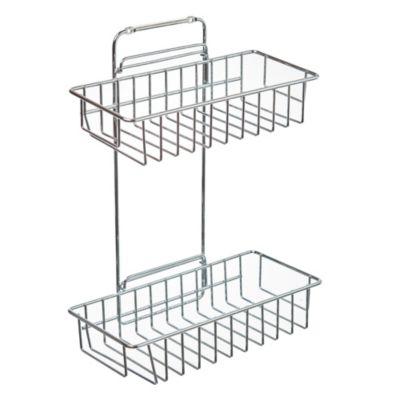 Organizador rectangular acero inoxidable