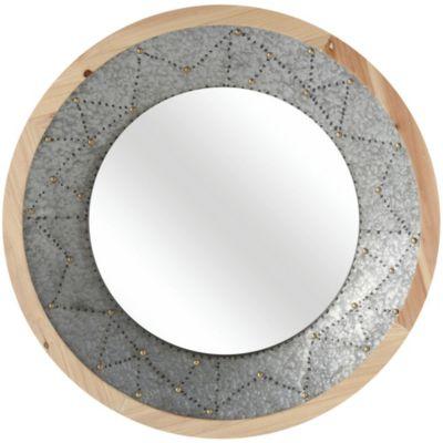 Espejo decorativo redondo Cosenza 79 x 79 cm