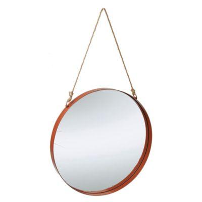 Espejo decorativo redondo Modica 40 x 140 cm
