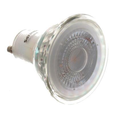 Lámpara LED 4.6-50 w GU10 fría