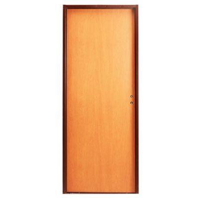 Puerta placa Practika  cedro MCH 70/10 izquierda