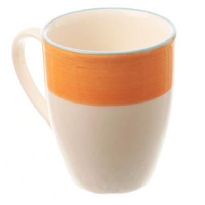 Mug de cerámica 300 ml naranja
