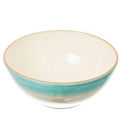 Ensaladera cerámica celeste