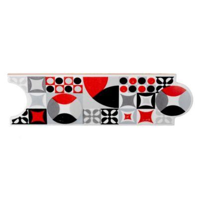 Guarda 8 x 25 Breton negro y rojo 1 ml