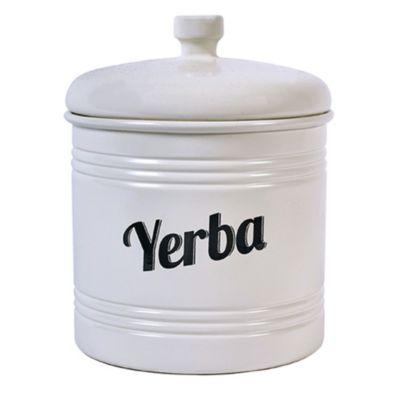 Tarro para yerba blanco