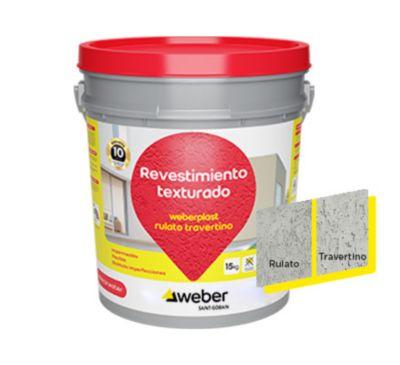 Weberplast rtm gris perla 15kg