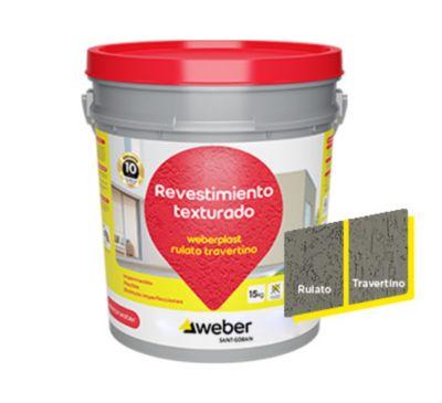Weberplast rtm gris plomo 15kg