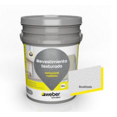 Weberplast Rodillado blanco x 30 kg