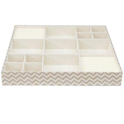 Caja para joyas/esmaltes 38 x 38 cm