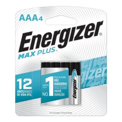 Pila alcalina AAA MAX PLUS x 4u