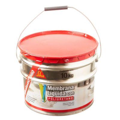 Membrana líquida Sikalastic 560 Techos Rojo 10 Kg