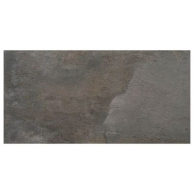 Cerámica de interior 45 x 90 Menhir antracita 1.22 m2