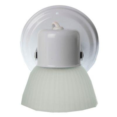 Aplique base redonda 1 luz Blanco
