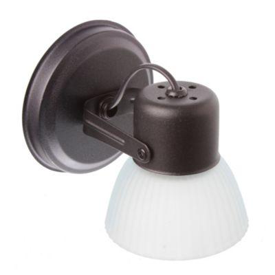 Aplique base redonda 1 luz Negro