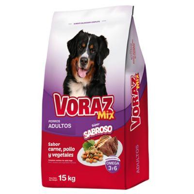 Alimento para perro sabor carne pollo y vegetales 15 kg