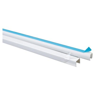 Cablecanal sup 10x10 con adhesivo