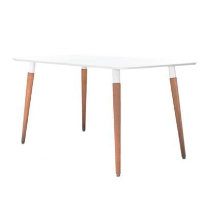 Mesa de comedor Nordica rectangular 1.30 mts