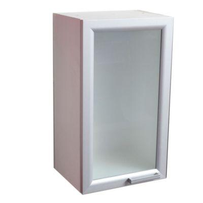Alacena vertical 40 cm puerta vidriada