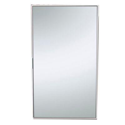 Alacena vertical 40 cm 1 puerta vidrio negro