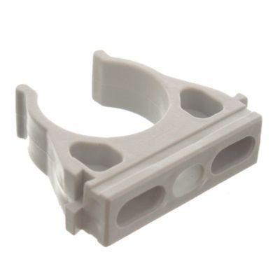 Grampa abierta PVC 25 mm x5 unidades