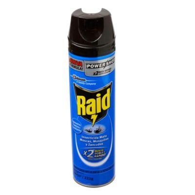 Raid aerosol mata moscas y mosquitos 360 cm3