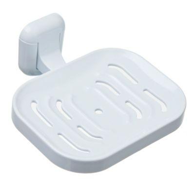 Toallero plástico blanco