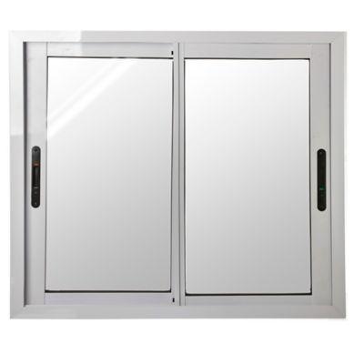 Ventana de aluminio cierre lateral 100 X 90 cm blanca