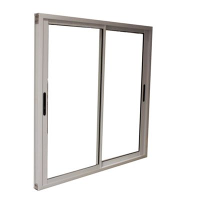 Ventana de aluminio cierre lateral 150 X 110 cm blanca