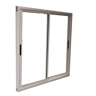 Ventana de aluminio cierre lateral 200 X 150 cm blanca