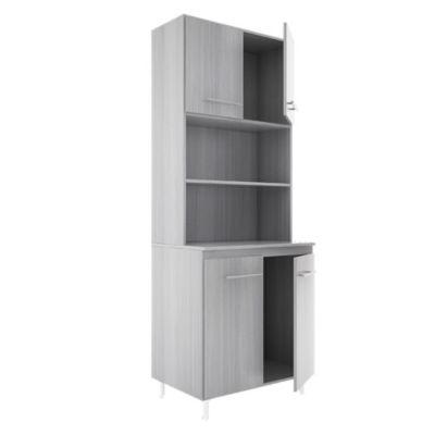 Cocina modular kit doble 4 puertas Jacarandá