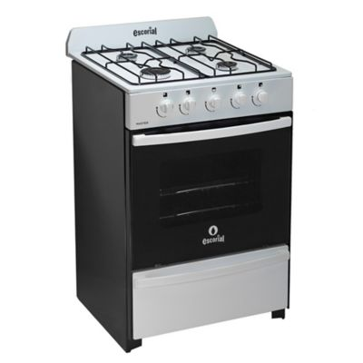Cocina a gas 01.01-18000 56 cm blanco