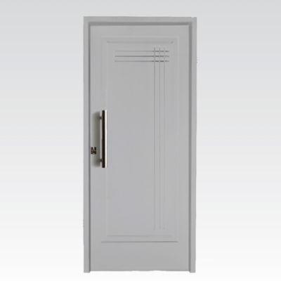 Puerta exterior blanca 80 cm derecha