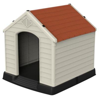 Cuchas para perro pequeño roja 66 x 73 x 69 cm
