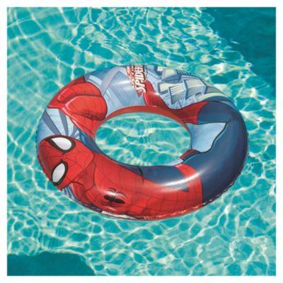 Flotador inflable redondo Spiderman 56 cm