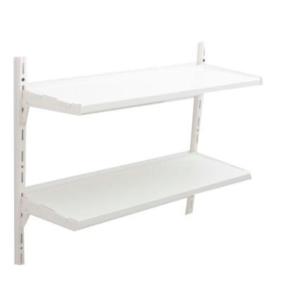 Kit de repisa simple blanca