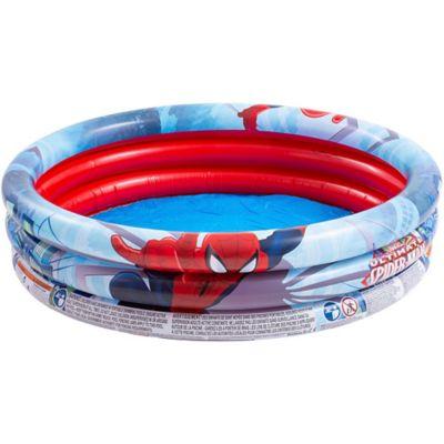 Pileta inflable redonda Spiderman 122 x 30 cm 200 L