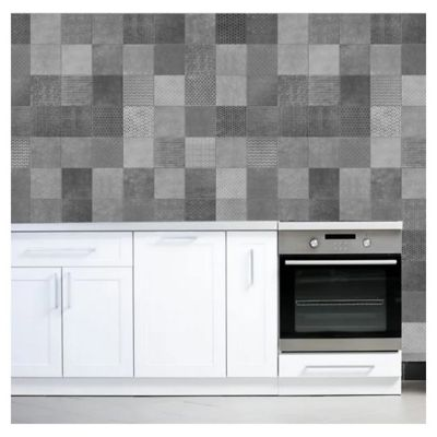 Cerámica de interior/exterior 37.5 x 75 Amberes gris 2.25 m2
