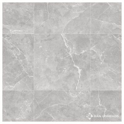 Porcelanato brillante pulido 57.7 x 57.7 Suria gris 1.33 m2