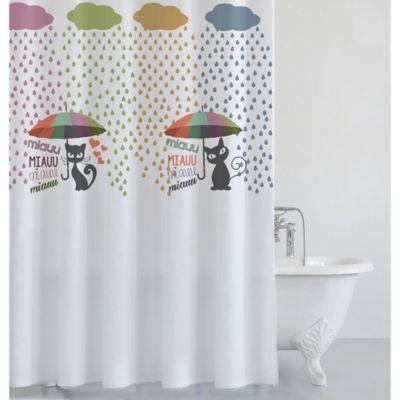 Cortina de baño lluvia 180 x 180 cm