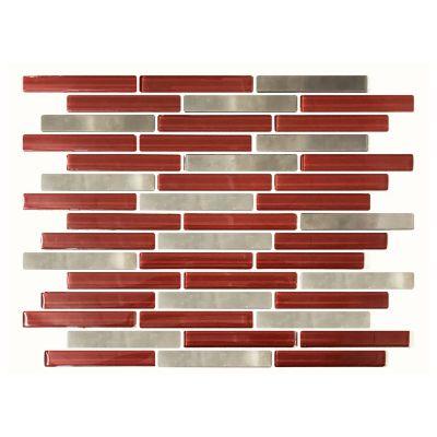 Mosaico laguna rojo